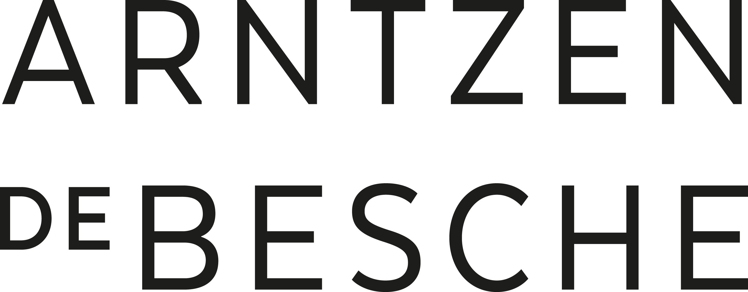 Arntzen de Besche's logo.