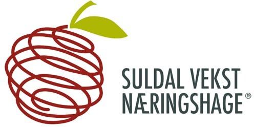 Suldal vekst næringshage's logo.