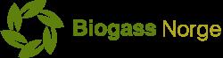 Biogass Norge's logo.