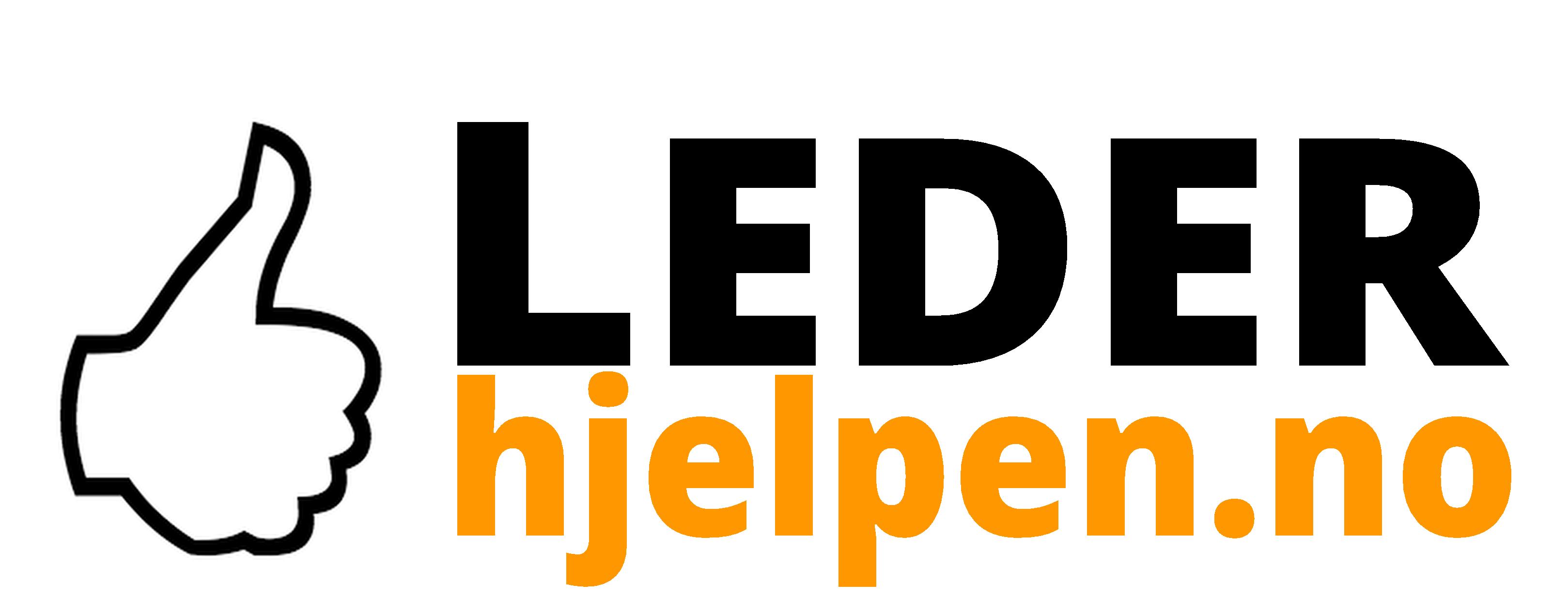 Lederhjelpen's logo.