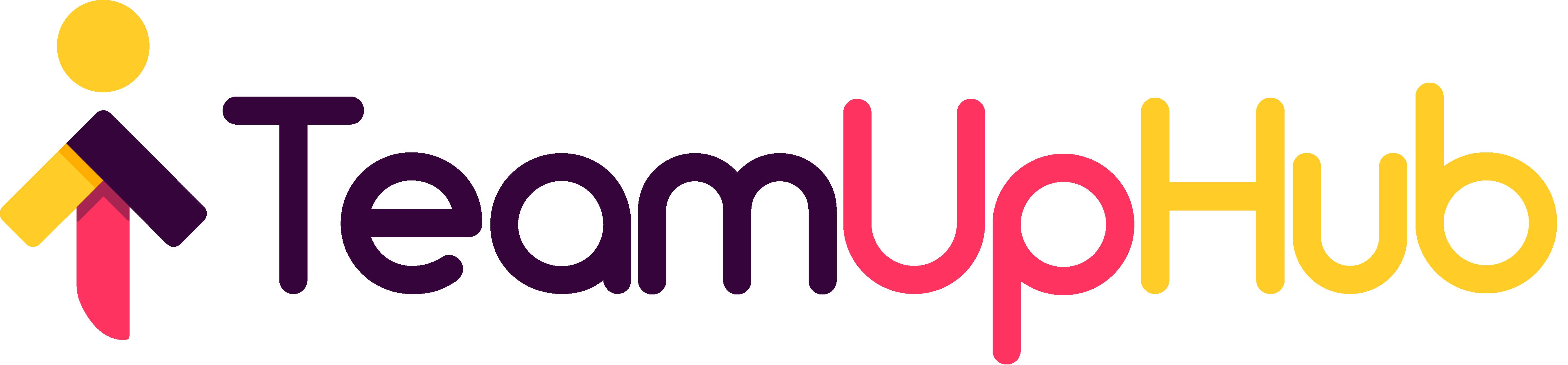 TeamUpHub's logo.