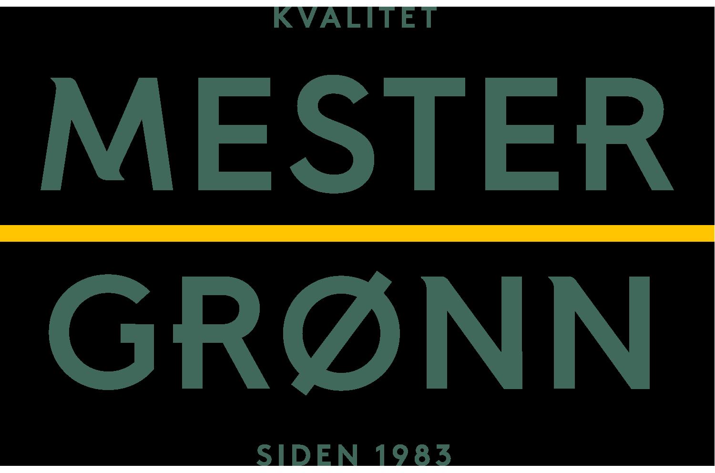 Mester Grønn's logo.