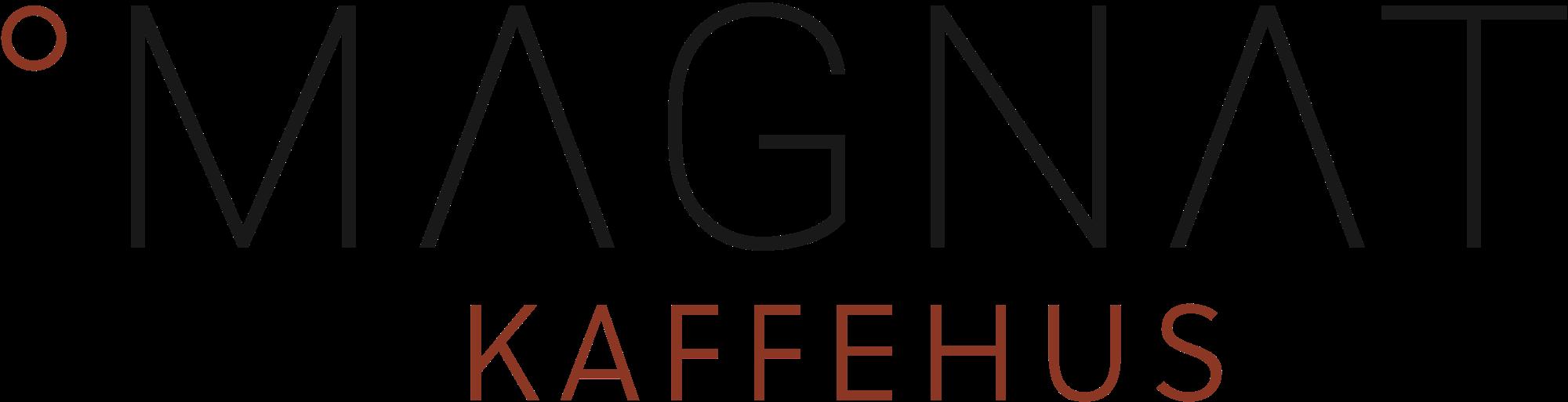 Magnat Kaffehus's logo.