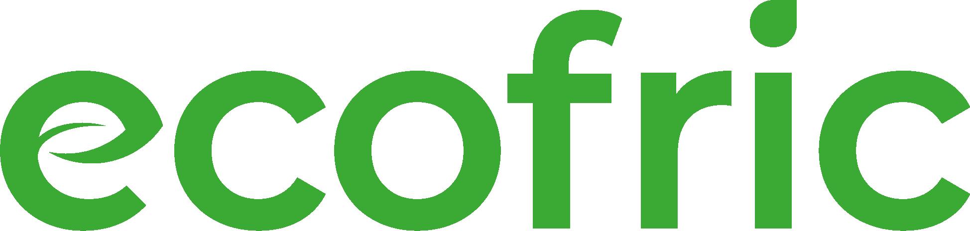 Ecofric's logo.